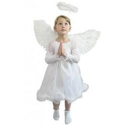 Sukienka małego Aniołka, z futerkiem, rozm.92