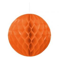 Rozeta Kula dekoracyjna, 30cm pomarańcz