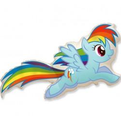 Balon foliowy Kucyk Rainbow Dash 60x109