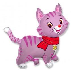 Balo folioy Piękny kotek różowy 101x93