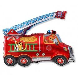 Balon foliowy Wóz strażacki 75x80