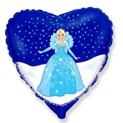 Balon folioy Kraina lodu Elsa 45x49