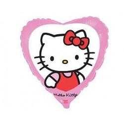 Balon foliowy Hello Kitty w okienku 45x49
