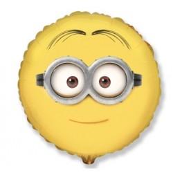 Balon foliowy Minion Dave (okrągły) 48cm