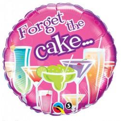 """Balon foliowy Happy Birthday Forget The Cake 18"""""""