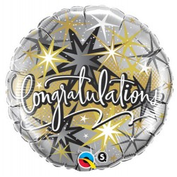 "Balon foliowy Congrattulation 18"""