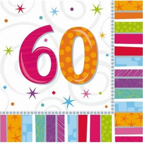 """Serwetki papierowe """"60"""", 16szt"""