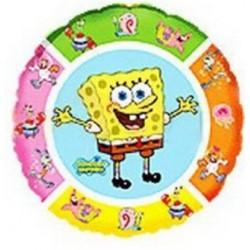 Balon foliowy Sponge Bob kolorowy 48cm