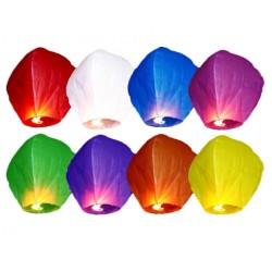 Latające lampiony szczęścia, mix kolorów, 1szt