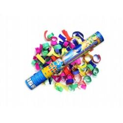 Konfetti strzelajace, kolorowe serpentyny, 40 cm