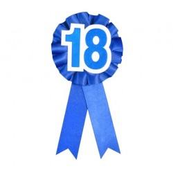 Kotylion na 18 urodziny, niebieski