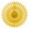 Rozeta dekoracyjna, złota 40cm