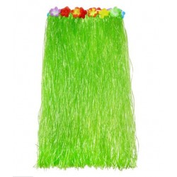 Hawajska spódnica, zielona