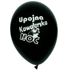 "Balon gumowy 12"", Upojna Kawalerska Noc, 1szt"