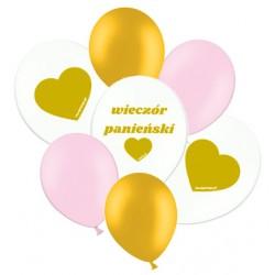 Zestaw balonów na Panieński, 7szt