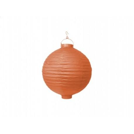 Ogrodowy lampion papierowy 20 cm, pomarań, 1 szt.