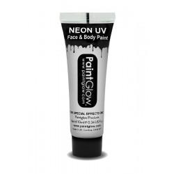 Farba do charakteryzacji świecąca NEON biała