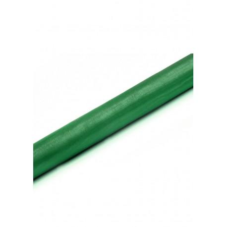 Organza 0,36x9m, gładka, szara zieleń, 1szt.