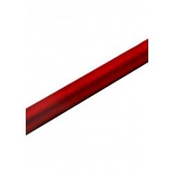 Organza 0,36x9m, gładka czerwona,1szt.