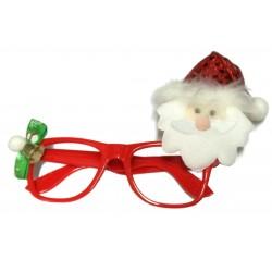 Okulary świąteczne mikołajek