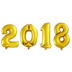 Balony 2017 złote