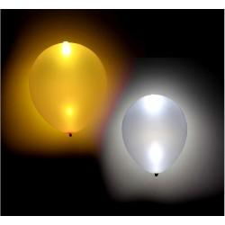 Balony świecące LED złote i srebrne