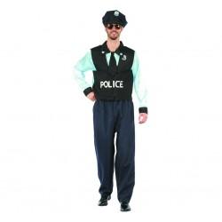 Strój Policjanta, uniform, r. 52