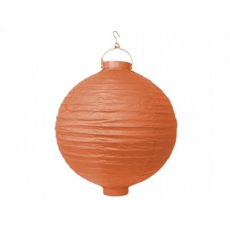 Ogrodowy lampion papierowy 30 cm, pomarań, 1 szt.