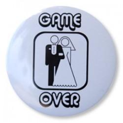 """Przypinka """"Game Over"""" 1 szt."""