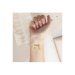 Tatuaże TEAM BRIDE na wieczór panieński (16szt)