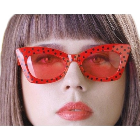 "Okulary ""Red with Black"", 1 szt."