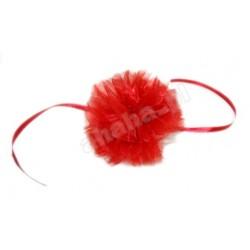 Pompon czerwony
