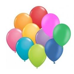 """Balony gumowe 10"""" (23cm), kolorowe, 10szt"""