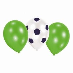Balony piłkarskie 30cm 5szt