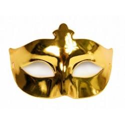 Maska na oczy, pełna złota