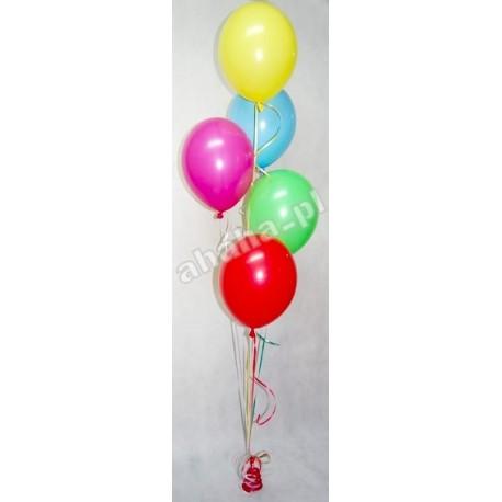 Pęk 5 balonów z helem