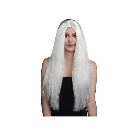 """Peruka """"Witch"""", biała"""