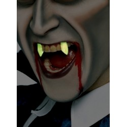 Kły wampira świecące w ciemności- nakładki