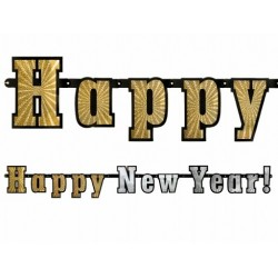 "Baner napis ""Happy New Year!"""
