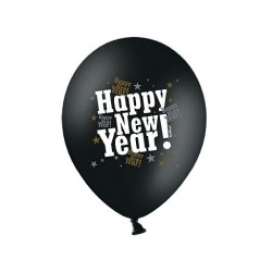 Balony Happy New Year, 1szt.