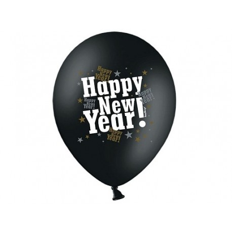 Balony Happy New Year, 1szt.