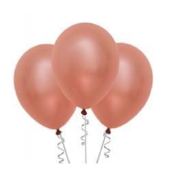 Zestaw balonów rose gold Panieński konfetti