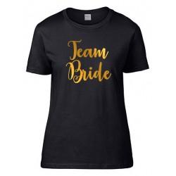 Koszulka personalizowana na Wieczór Panieński S czarna