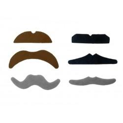 sztuczne wąsy- zestaw- PD
