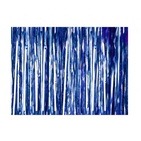 Kurtyna zasłona, lameta niebieska
