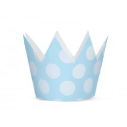 Korona Party niebieska 10cm