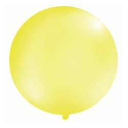 Balon metrowy, 1m, czerwony