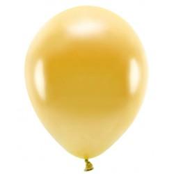 """Balon gumowy 30cm ( 14"""" ) złoty metalic 1szt"""