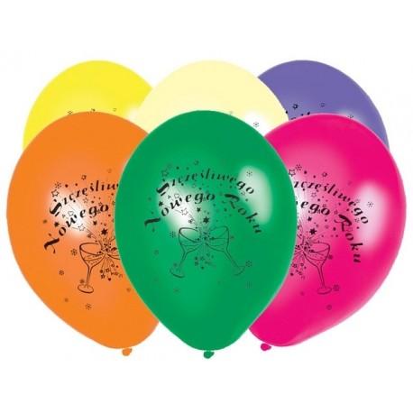 """Balony 12"""" Szczęśliwego... Pastel Mix, 50szt"""