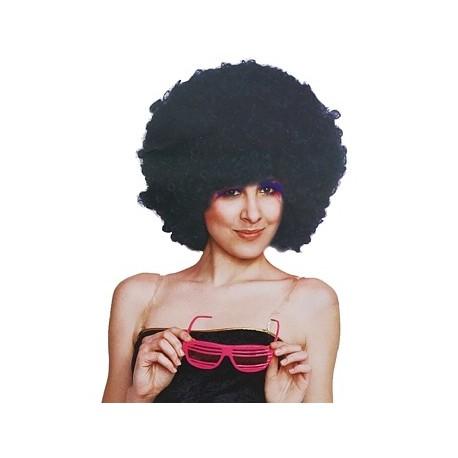 Peruka Mega Afro, czarna